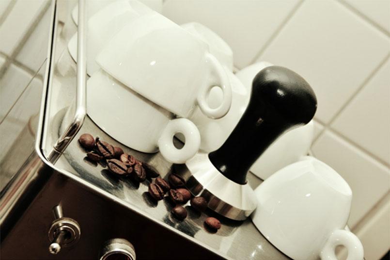 café pour entretenir maison