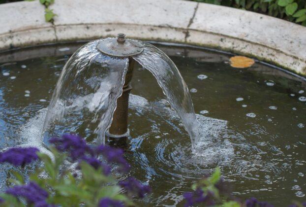fontaine pourson jardin